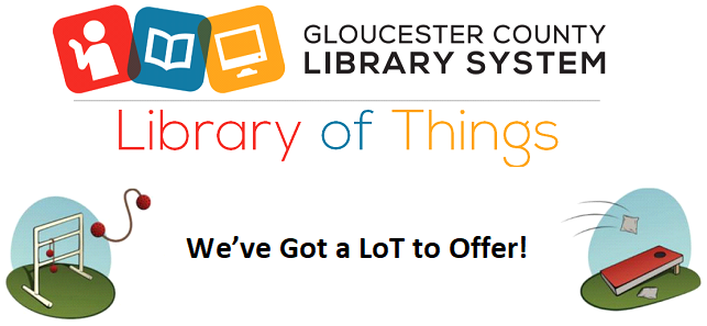 GCLS Library of Things Logo