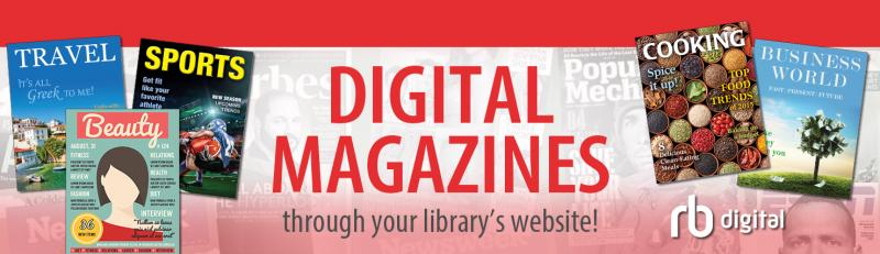 Digital Magazines | Gloucester County Library System