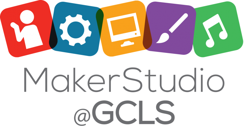 MakerStudio@GCLS logo