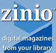 Zinio Digital Magazines logo