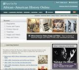 African American History Database Screenshot