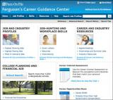 Ferguson's Career Guidance Center Database screenshot