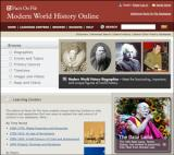 Modern World History Database screenshot