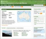 World Geography and World Culture Online screenshot